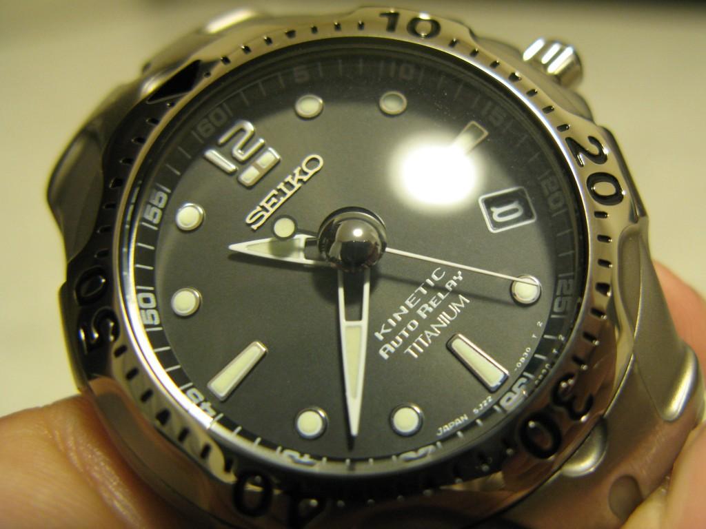 修理から戻ってきた腕時計